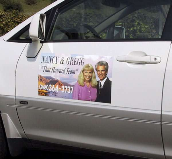 Real Estate Car Magnets Orange County Signs
