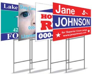 Stands, Frames, Stakes & Sign Holders | Banner and Sign ...