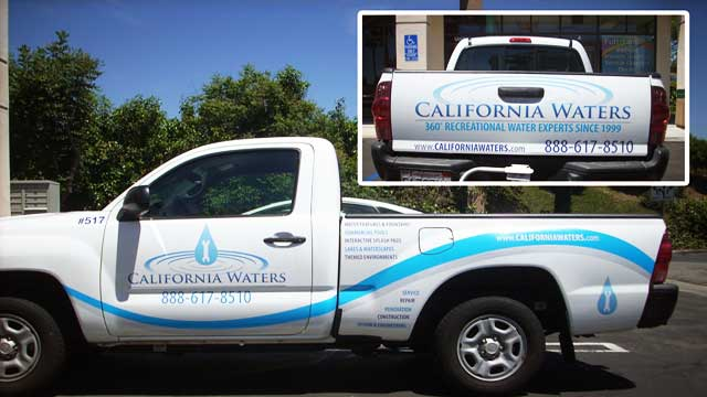 Car Truck Boat Fleet Vehicle Decals Wraps Graphics - Vehicle decals for business application