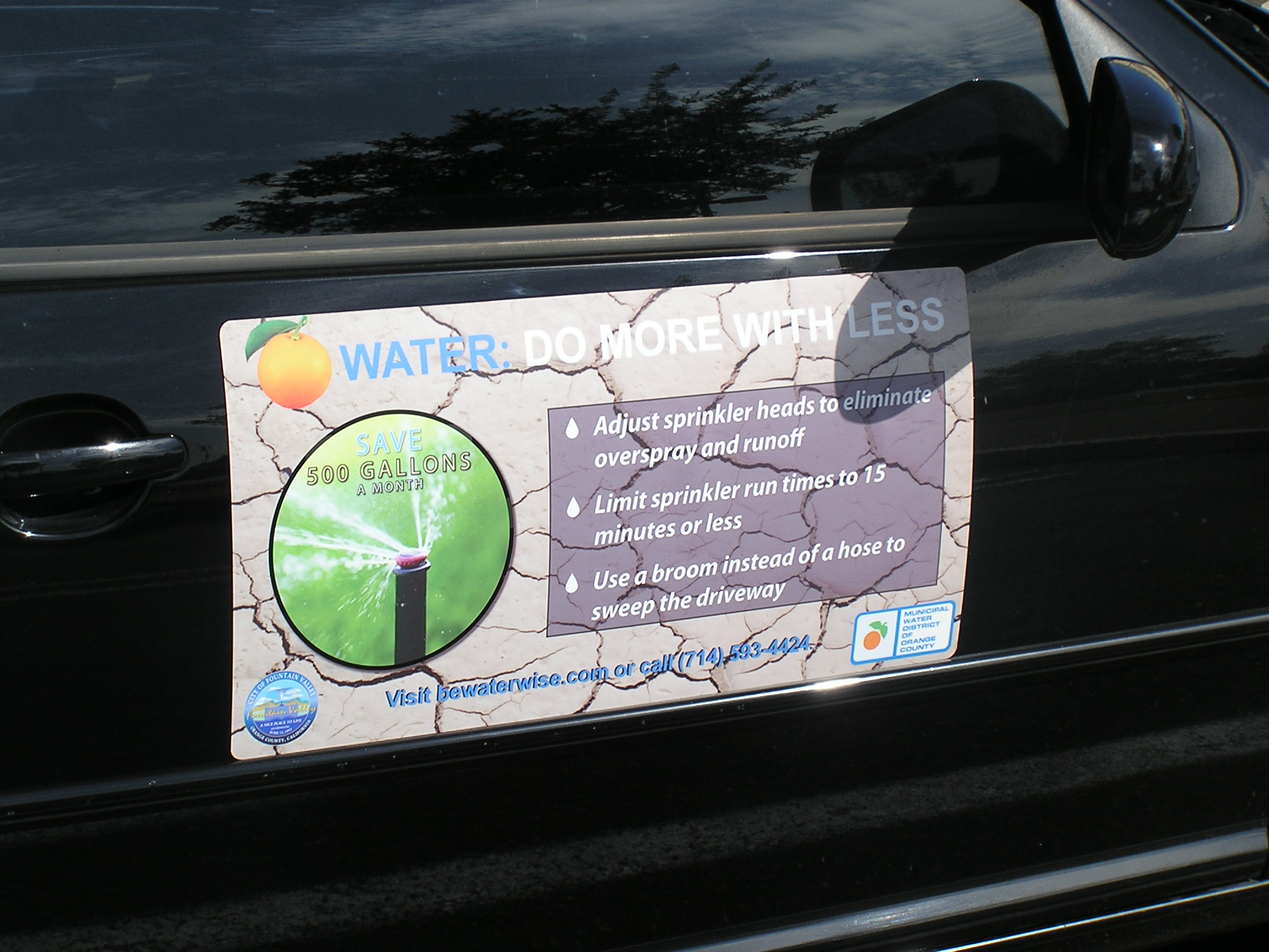 How To Remove Stickers From Car Window >> Magnetic Signs - Orange County Signs